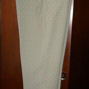 Banana Republic Avery beige textures O's pants 6